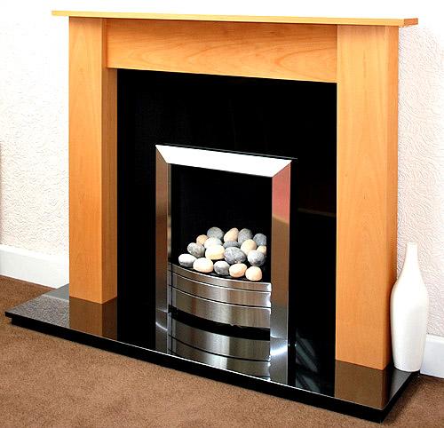 Eclipse Beech Wood Fireplace Prestige Fireplaces