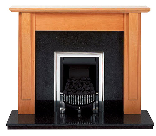 Shaker beech fire surround