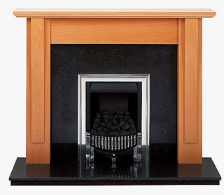 Shaker solid beech fire surround