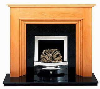 Twyford Beech fireplace surround