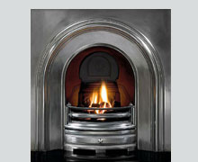 Crown cast iron fireplace