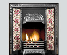 Galway cast iron fireplace