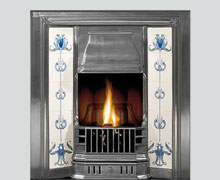 Prince cast iron fireplace