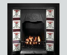 Tolouse cast iron fireplace