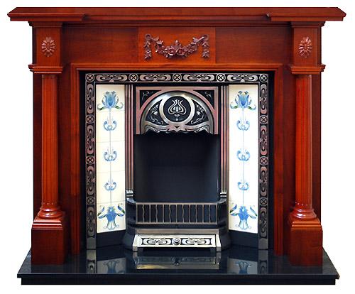 Mahogany Fire Surrounds Solid Mahogany Fireplaces