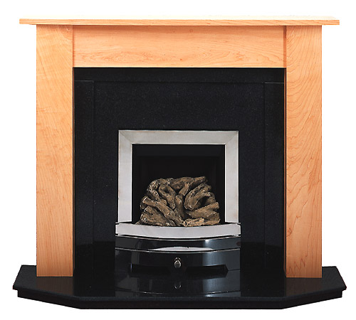Eclipse maple fire surround