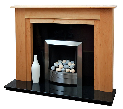 Milan Maple Fire Surround
