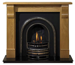 Grand Corbel oak fire surround