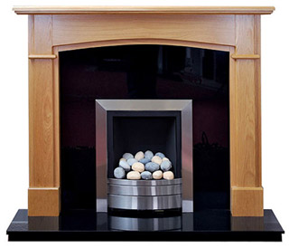 Hampshire Oak fireplace surround