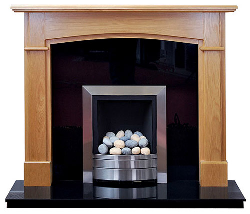 Hampshire Oak fire surround