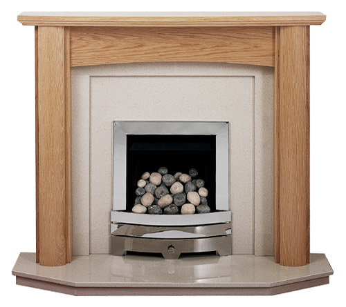 Kensington oak fire surround