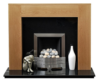 Lincoln Oak fire surround
