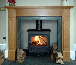 Custo made fire surround Leicestershire