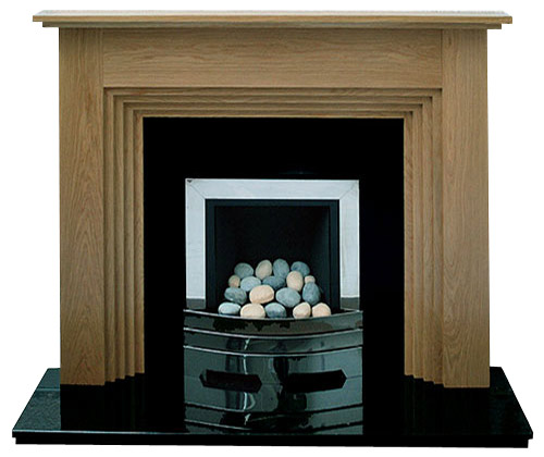 Twyford oak fire surround