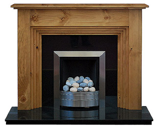 The Twyford pine fire surround