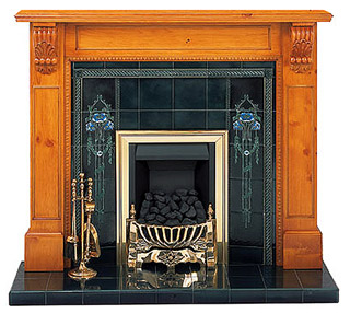 Victorian Corbel Pine fireplace surround