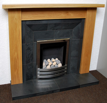 Black Slate Fireplace, Nottingham, Leicester, UK   Slate Fireplaces