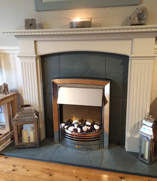 Slate Fireplace Hearth Perfect The Stone