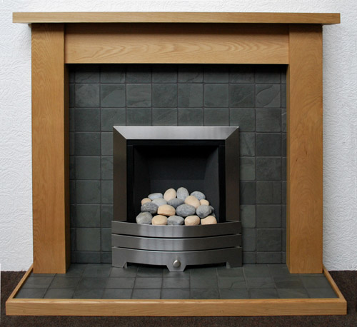 Grey Slate Fireplace Nottingham Leicester Uk