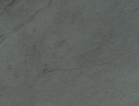Grey slate splayed sample