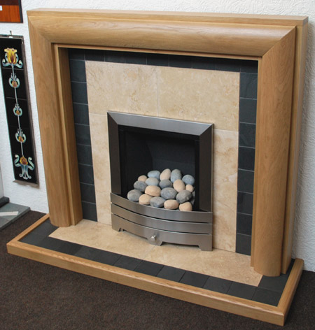 travertine fireplace inserts nottingham leicester uk. Black Bedroom Furniture Sets. Home Design Ideas