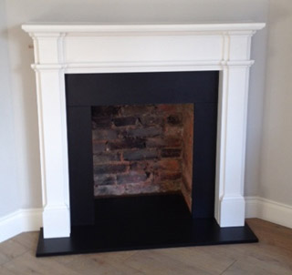 White fire surround Surrey