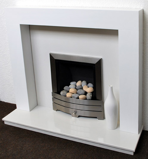 Dorchester White Fireplace Prestige Fireplaces Nottingham