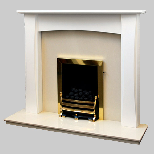 The Lorna White Fireplace Prestige Fireplaces Nottingham