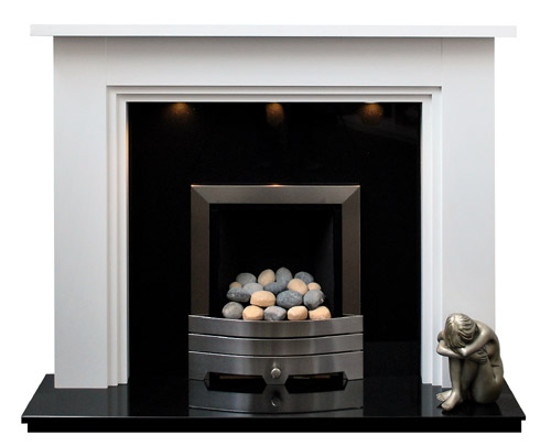 Nottingham white fire surround